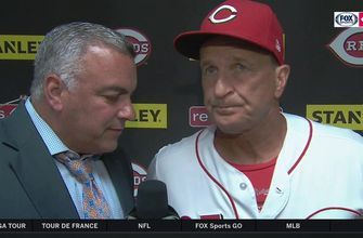 Jim Riggleman acknowledges the continued struggle of 6th inning pitching for Reds
