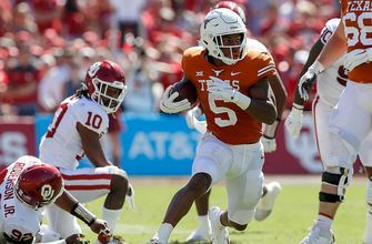 247Sports and Fox Sports have Texas RB Bijan Robinson as a leader for Heisman trophy