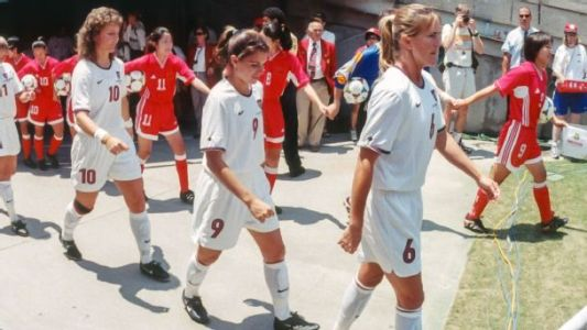 Reflections from a Chinese-American home during the 1999 Women's World Cup final
