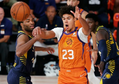 Suns overcome Booker foul trouble, down Pacers to stay unbeaten in restart