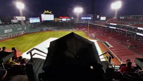 Blue Jays, Red Sox game postponed due to rain, doubleheader to be played Wednesday