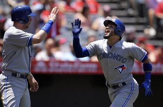Morales homers in 10th as Blue Jays top Angels 7-6