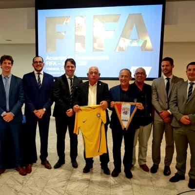Brazil and Cuba form development partnership as part of the FIFA Forward programme