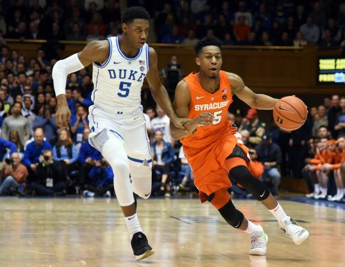 Starting Five: Duke-Syracuse, other conference races highlight college basketball weekend