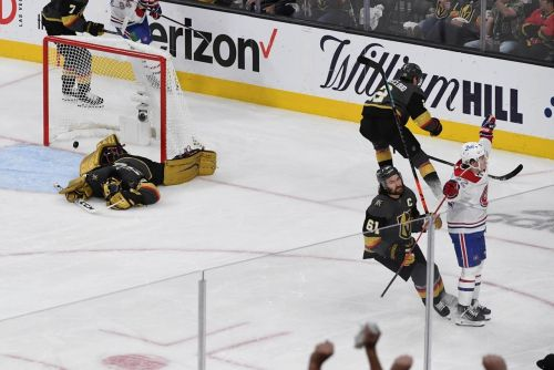 Canadiens dominate Golden Knights 4-1 in Vegas, take 3-2 lead in Cup semifinal series