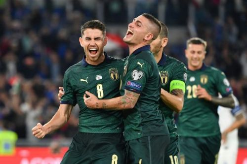 Italy clinch place at Euro 2020 as Spain made to wait