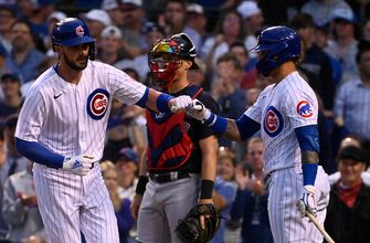 Kris Bryant belts 14th homer in Cubs' 7-1 win over Indians
