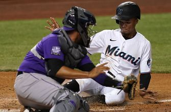 Marlins score 11-straight runs in dominant win over Rockies, 11-4