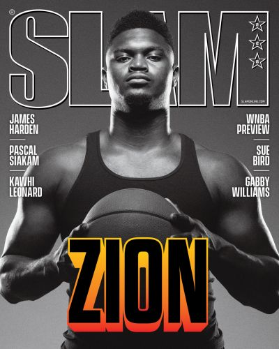 New Orleans Pelicans Star Zion Williamson Covers SLAM 228