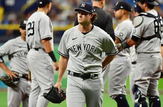 Gerrit Cole rocked for seven runs, Yankees fail to score in 14-0 blowout loss to Rays