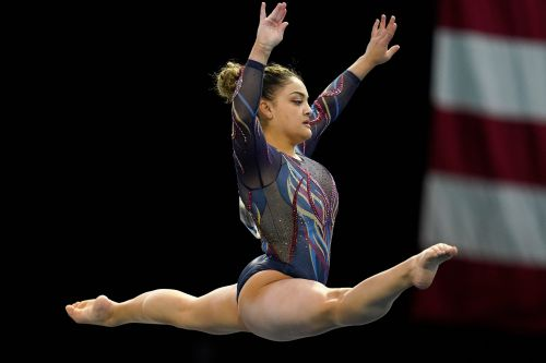 Laurie Hernandez and Katelyn Ohashi are striving to make gymnastics a more positive space