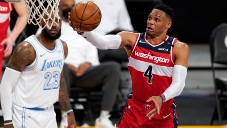 Lakers acquiring All-Star Westbrook from Wizards in multi-player trade: sources