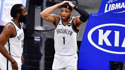 NBA Twitter roasts Nets' Bruce Brown for taking late shots, not passing to Kevin Durant or Kyrie Irving