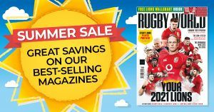 Six issues of Rugby World magazine for £9.99