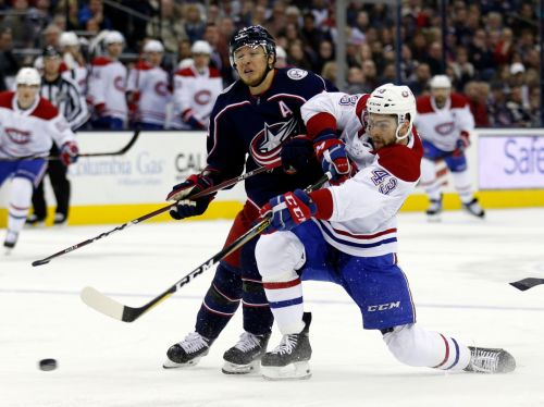 Tatar, Armia each score a pair, Canadiens beat Blue Jackets