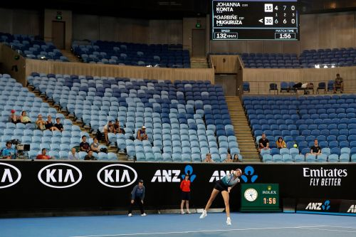 Midnight run: Muguruza tops Konta late in Australian Open
