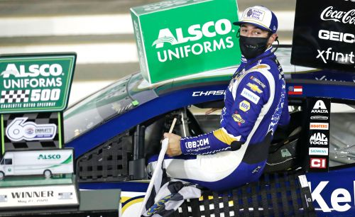 Chase Elliott rebounds from two brutal NASCAR losses for first Cup win of season