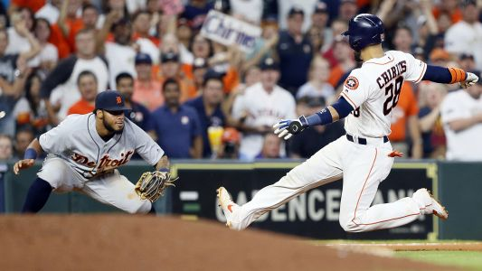 MLB wrap: Tigers pull off stunning upset after Astros' baserunning mishaps