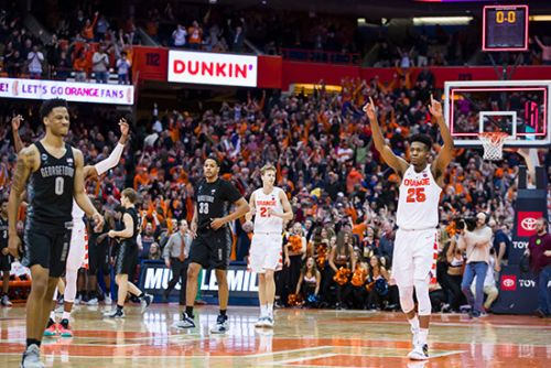 Syracuse and Georgetown add another classic to their rivalry