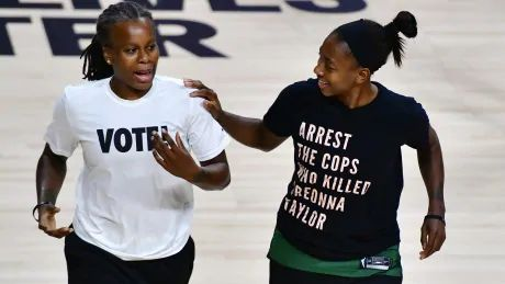As players decry outcome of Breonna Taylor case, Storm take Game 2 over Lynx