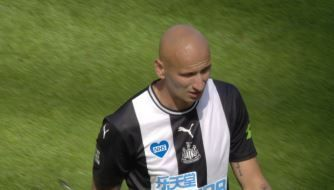 Jonjo Shelvey hits back for Newcastle
