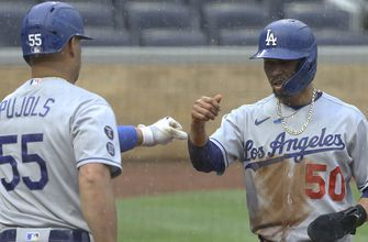 Dodgers get 6-3 victory and sweep over Pirates in rain-shortened game